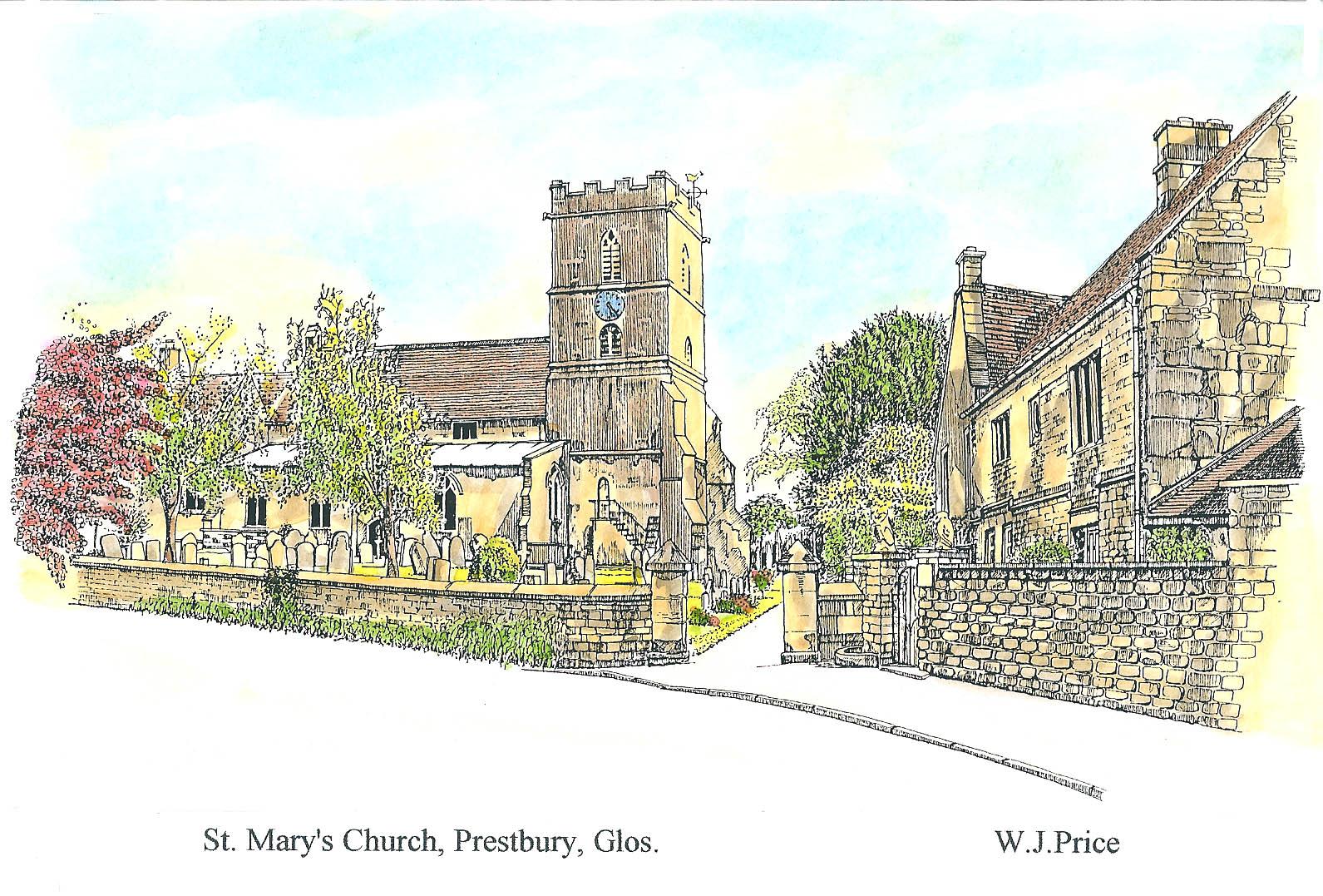 prestbury church